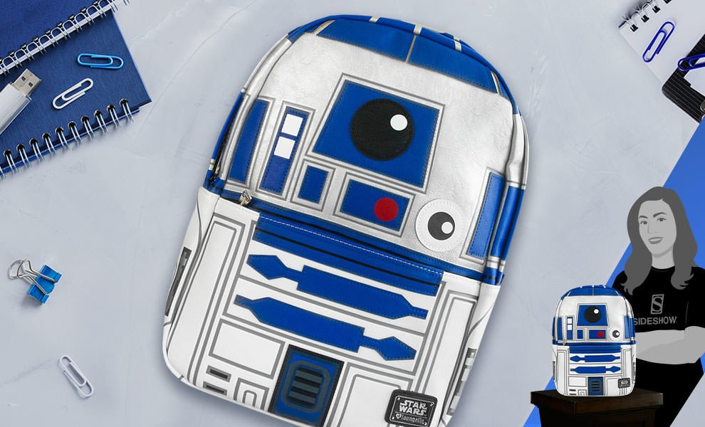 Gallery Feature Image of R2-D2 Backpack Apparel - Click to open image gallery