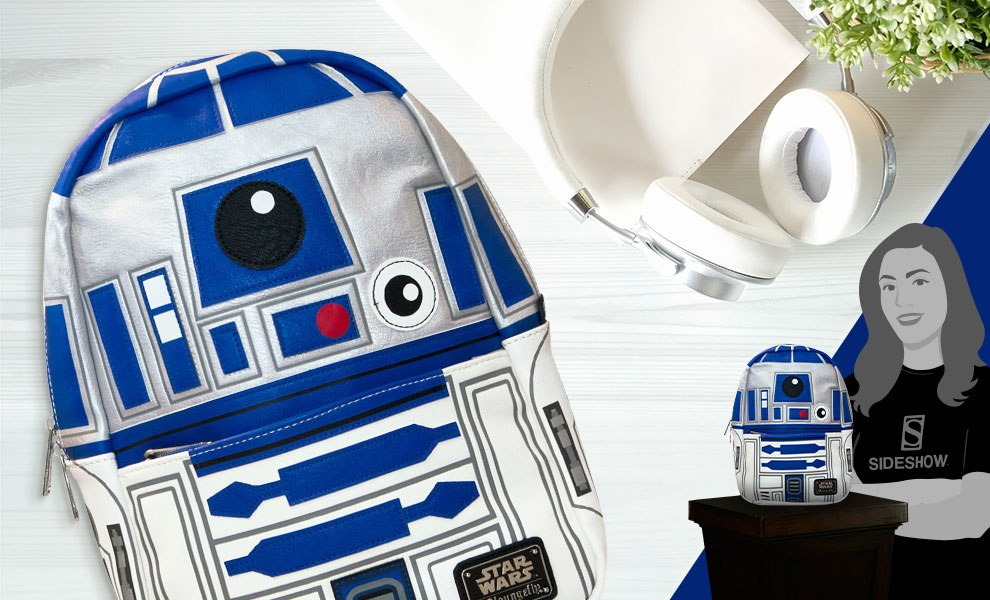 Gallery Feature Image of R2-D2 Mini Backpack Apparel - Click to open image gallery