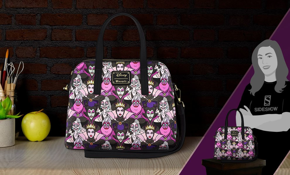 Gallery Feature Image of Villains All Over Print Bag Apparel - Click to open image gallery
