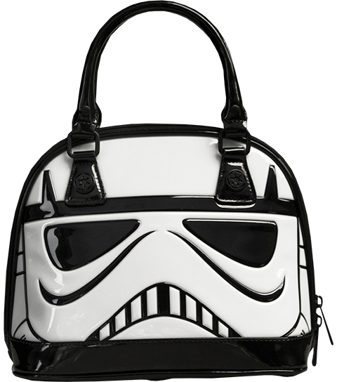 Loungefly Stormtrooper Patent Mini Dome Bag Apparel
