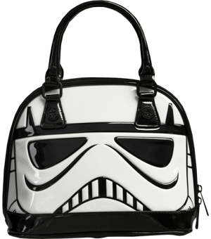 Stormtrooper Patent Mini Dome Bag Apparel