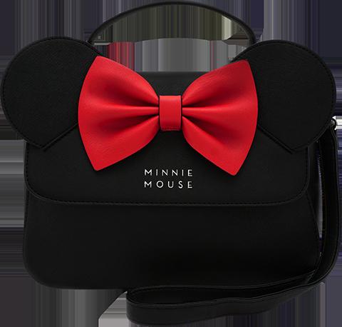 Loungefly Minnie Ears and Bow Crossbody Bag Apparel
