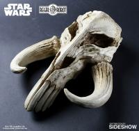 Gallery Image of Mandalorian Skull Wall Decor Statue