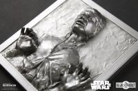 Gallery Image of Han Solo in Carbonite Mini Plaque Statue