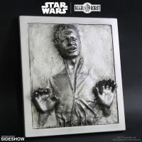 Gallery Image of Han Solo in Carbonite Plaque Statue
