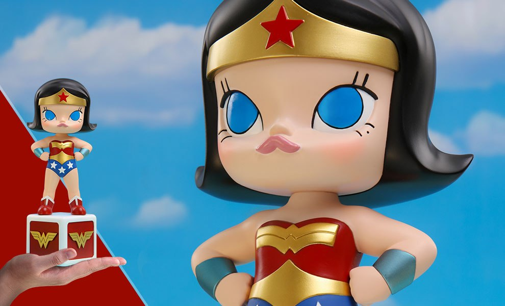Gallery Feature Image of Molly Wonder Woman Disguise Collectible Figure - Click to open image gallery