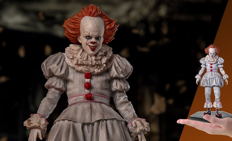 Gallery Feature Image of Pennywise Statue - Click to open image gallery