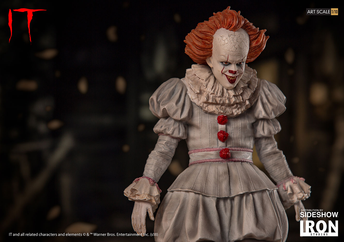It Pennywise Statue By Iron Studios Sideshow Collectibles