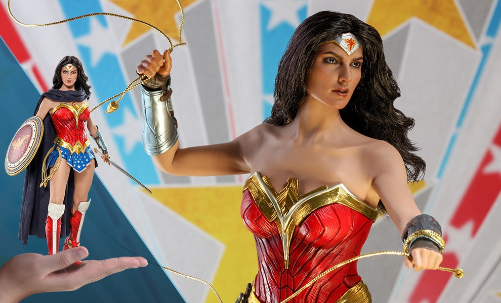 Gallery Feature Image of Wonder Woman Comic Concept Version Sixth Scale Figure - Click to open image gallery