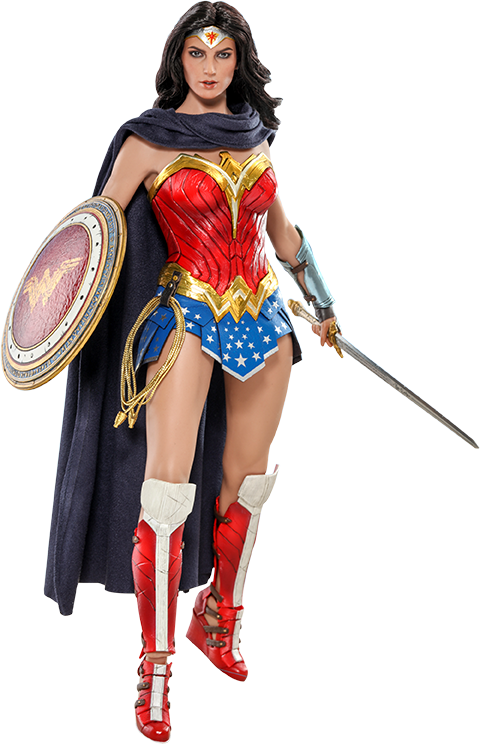 Hot Toys Wonder Woman Comic Concept Version Sixth Scale Figure