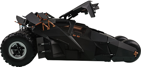Soap Studio The Dark Knight RC Tumbler - Driver Pack Miscellaneous Collectibles