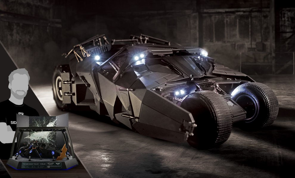 Gallery Feature Image of The Dark Knight RC Tumbler - Deluxe Pack Miscellaneous Collectibles - Click to open image gallery