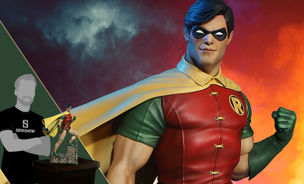 Gallery Feature Image of Super Powers Robin Maquette - Click to open image gallery