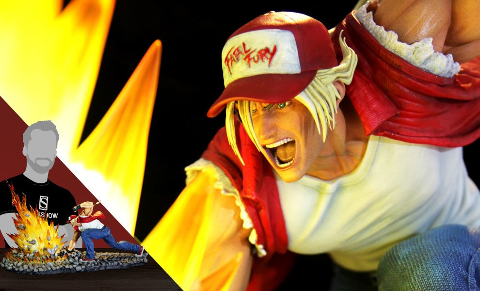 Gallery Feature Image of Terry Bogard The Lone Wolf Diorama - Click to open image gallery