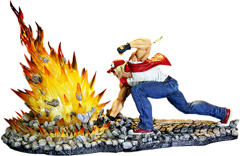 Kinetiquettes Terry Bogard The Lone Wolf Diorama
