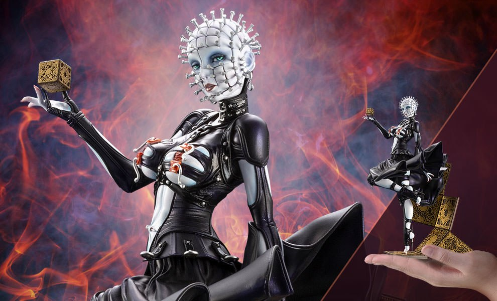 Gallery Feature Image of Pinhead Statue - Click to open image gallery