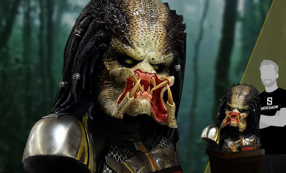 Gallery Feature Image of Fugitive Predator Life-Size Bust - Click to open image gallery