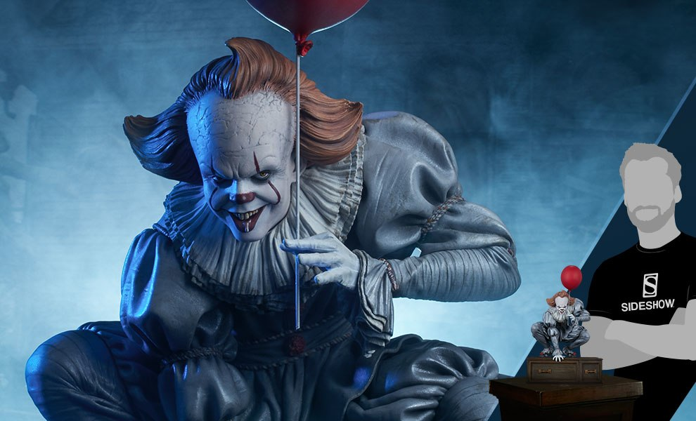 Gallery Feature Image of Pennywise Maquette - Click to open image gallery