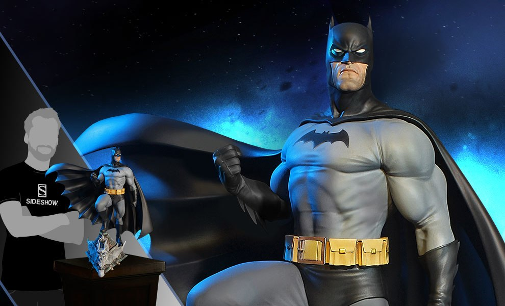 Gallery Feature Image of Super Powers Batman Variant Maquette - Click to open image gallery