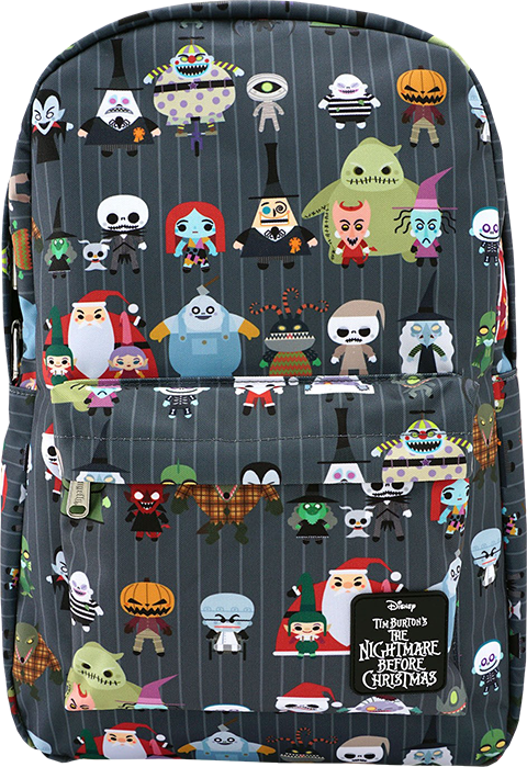 Loungefly The Nightmare Before Christmas Chibi Backpack Apparel