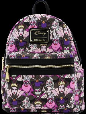 Disney Villains Print Mini Backpack Apparel
