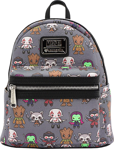 Marvel Guardians of the Galaxy Kawaii Mini Backpack Apparel ... 6416e5733938c
