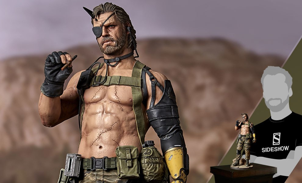 Gallery Feature Image of Venom Snake Play Demo Version Statue - Click to open image gallery
