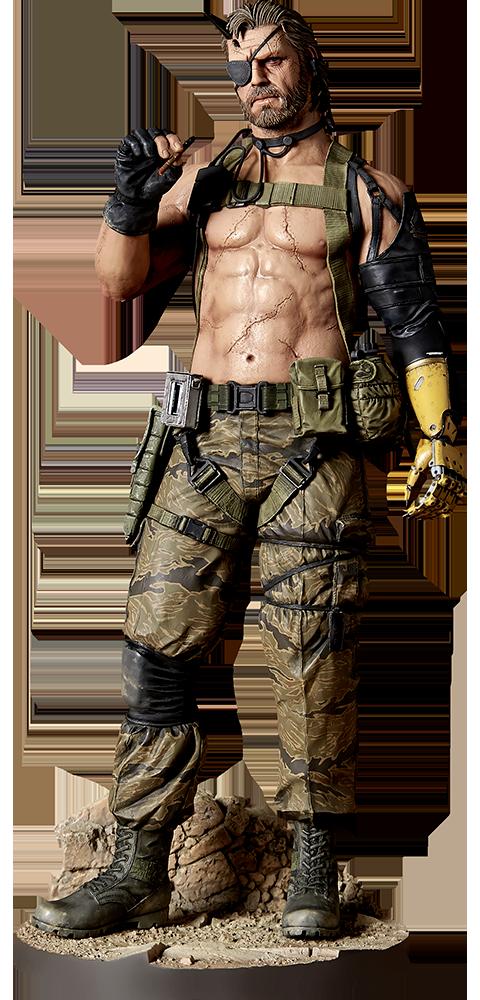 Gecco Co. Venom Snake Play Demo Version Statue