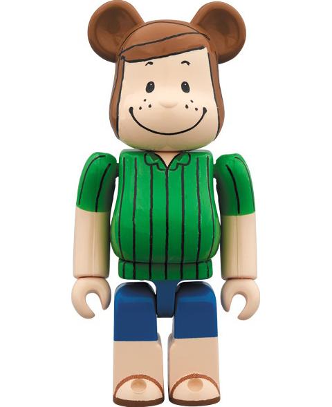 Medicom Toy Bearbrick Peppermint Patty 100 Figure