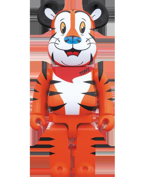 cdf64030 Kellogg Bearbrick Tony the Tiger 1000 Figure by Medicom Toy ...