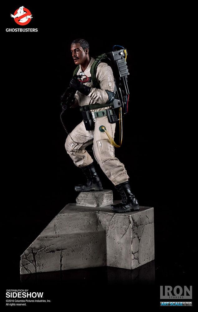 Ghostbusters Iron Studios Winston Zeddmore Art Scale 1//10
