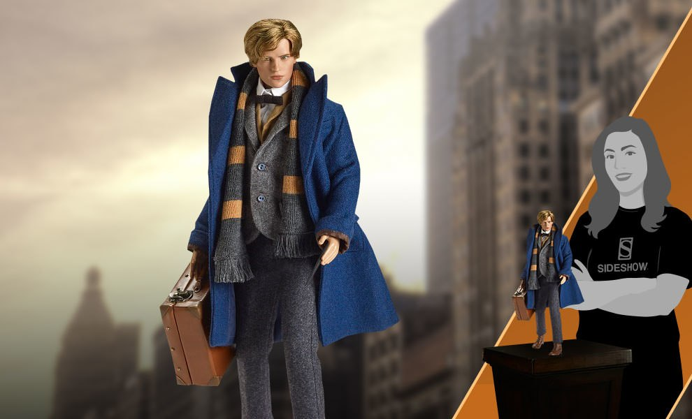 Gallery Feature Image of Newt Scamander Doll - Click to open image gallery