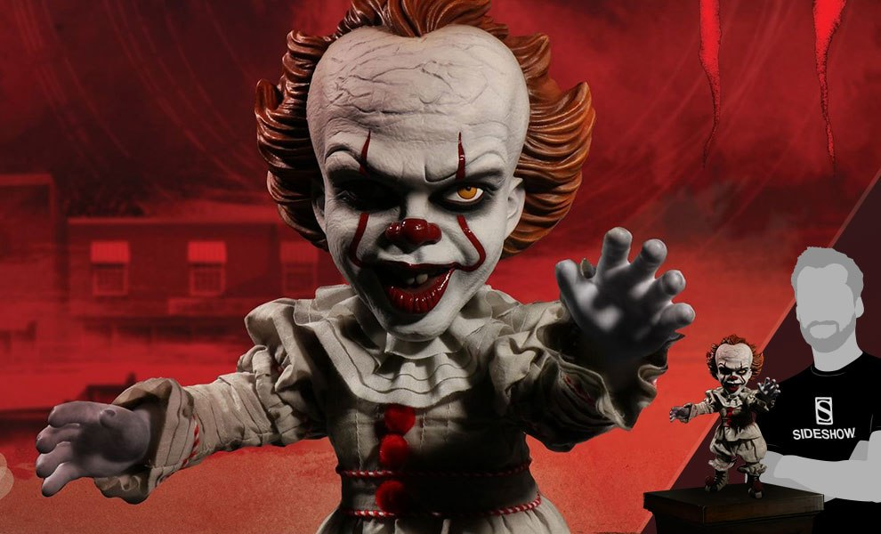 Gallery Feature Image of Talking Pennywise Collectible Figure - Click to open image gallery