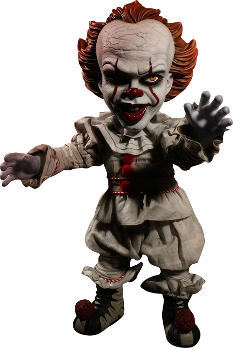 Mezco Toyz Talking Pennywise Collectible Figure