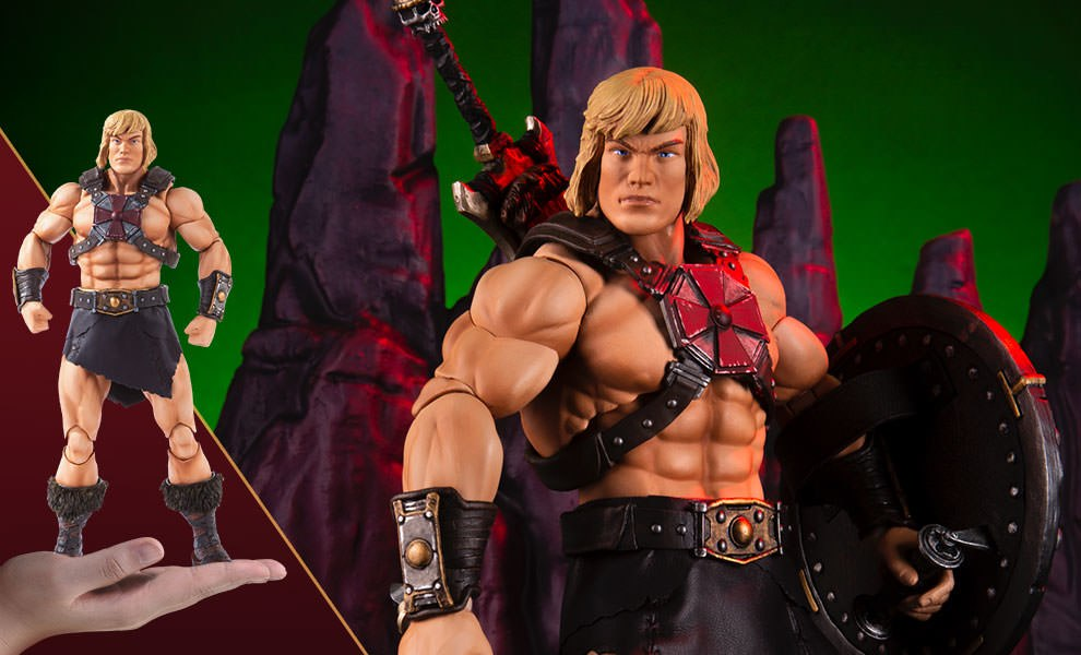 Gallery Feature Image of He-Man Sixth Scale Figure - Click to open image gallery