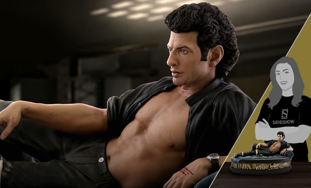 Gallery Feature Image of Ian Malcolm Statue - Click to open image gallery