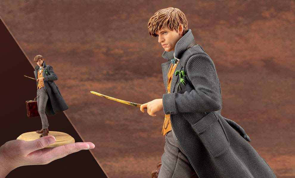 Gallery Feature Image of Newt Scamander Statue - Click to open image gallery