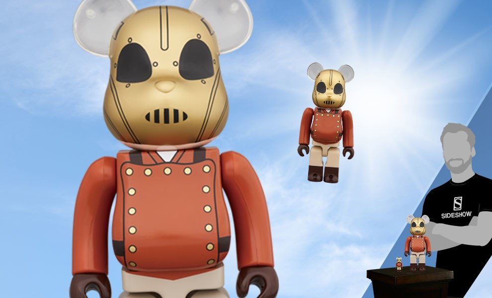 Gallery Feature Image of Bearbrick The Rocketeer 100 and 400 Collectible Set - Click to open image gallery