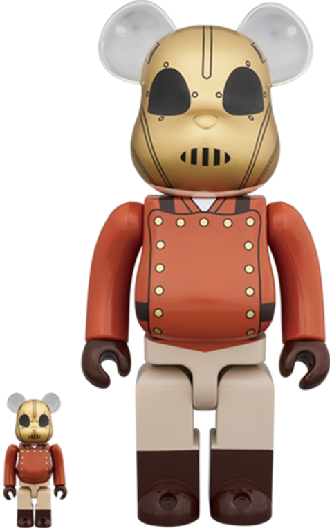 Medicom Toy Bearbrick The Rocketeer 100 and 400 Collectible Set