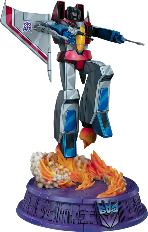 Pop Culture Shock Starscream - G1 Statue
