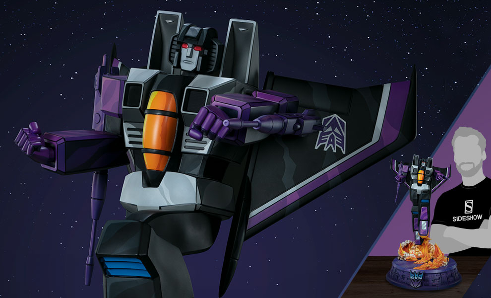 Gallery Feature Image of Skywarp - G1 Statue - Click to open image gallery