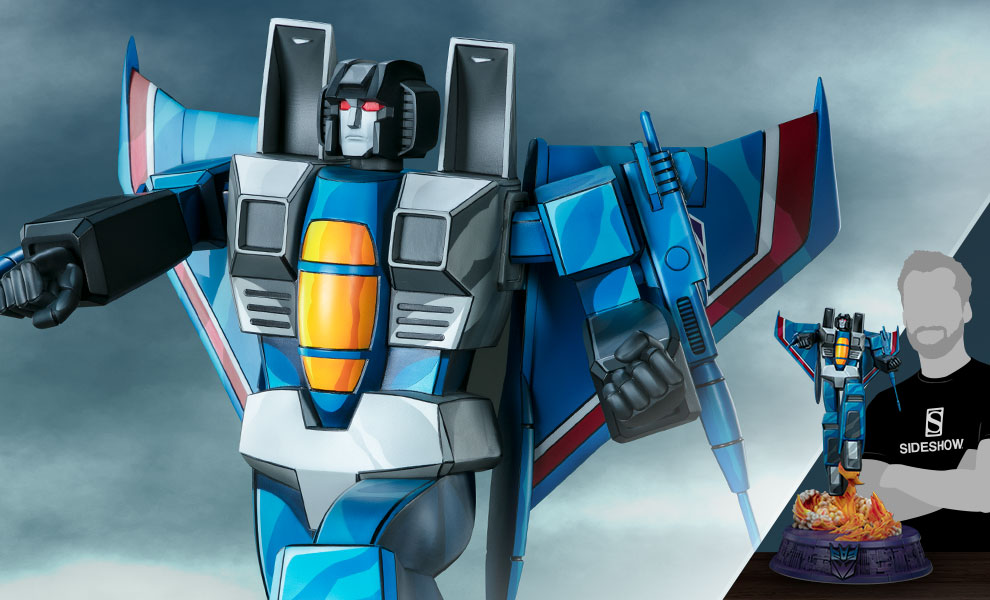 Gallery Feature Image of Thundercracker - G1 Statue - Click to open image gallery