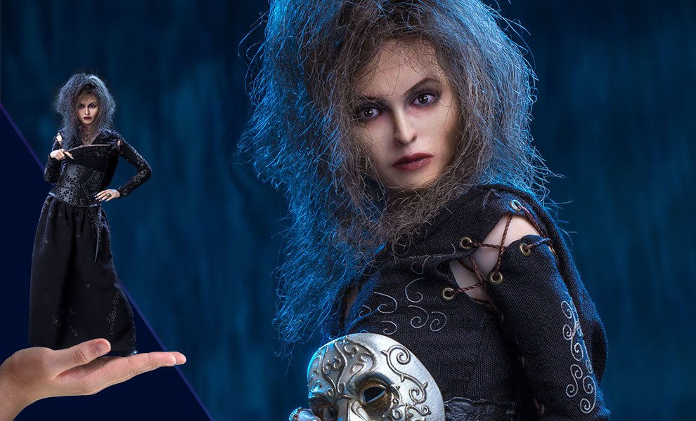 Gallery Feature Image of Bellatrix Lestrange Sixth Scale Figure - Click to open image gallery