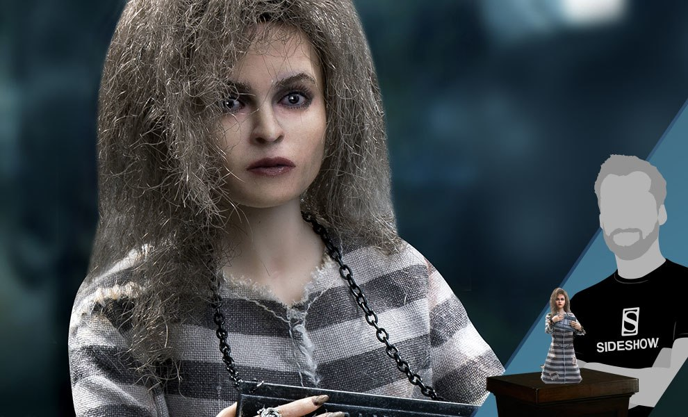 Gallery Feature Image of Bellatrix Lestrange Prisoner Version Sixth Scale Figure - Click to open image gallery