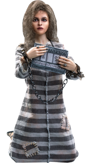 Bellatrix Lestrange Prisoner Version Sixth Scale Figure
