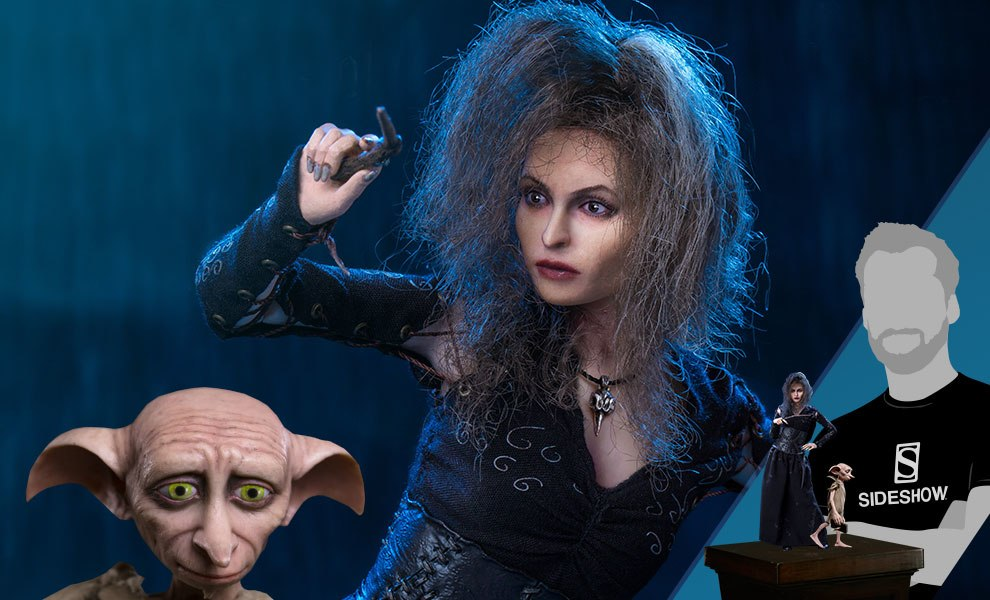 Gallery Feature Image of Bellatrix Lestrange Deluxe Twin Pack Sixth Scale Figure - Click to open image gallery