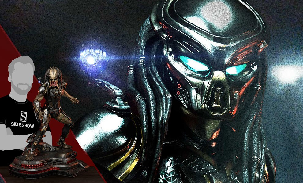 Gallery Feature Image of Fugitive Predator Statue - Click to open image gallery