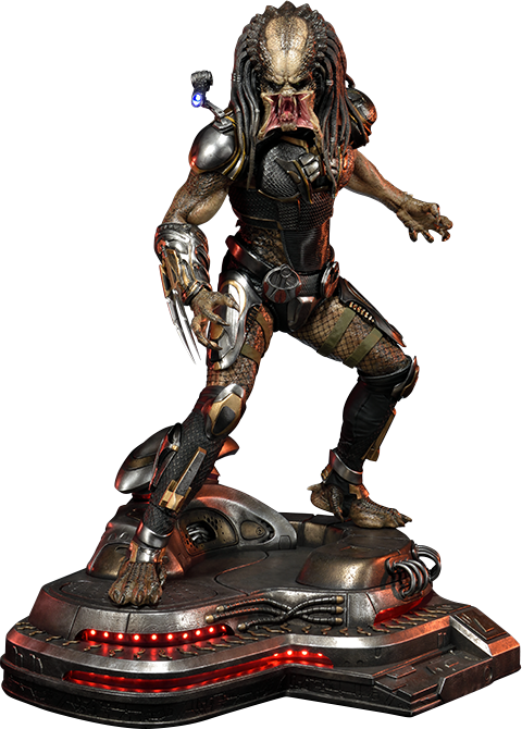 Prime 1 Studio Fugitive Predator Statue