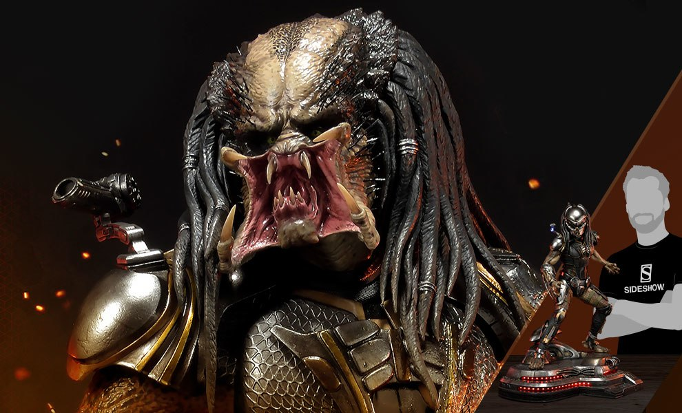 Gallery Feature Image of Fugitive Predator Deluxe Version Statue - Click to open image gallery