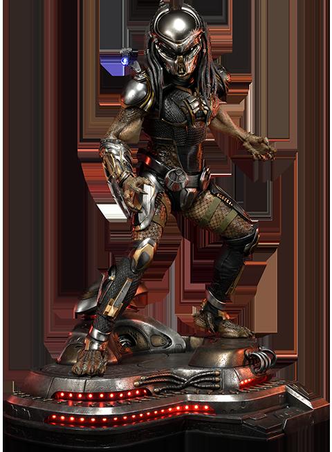 Prime 1 Studio Fugitive Predator Deluxe Version Statue